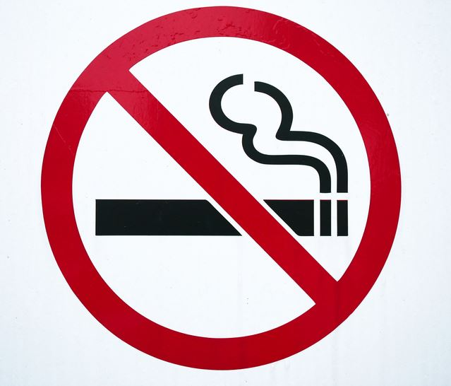 Non Smoking Symbol graphic